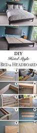 Diy Platform Bed Easy by Cheap Easy Low Waste Platform Bed Plans Platform Beds
