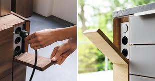 steckdosen design küche design idee verstecken ihre steckdosen home deko
