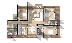 Luxury Floor Plans by Luxury 4 Bedroom Apartment Floor Plans Maduhitambima Com