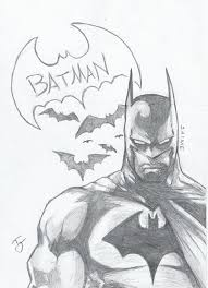 batman sketch by 13chubz on deviantart