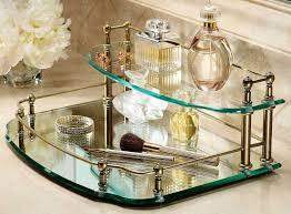 Delightful Vanity Trays For Bathroom Vanity Trays For Bathroom Chanel Vanity Tray Bathroom With