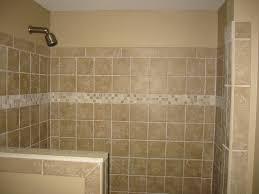 shower half wall tile bathroom renovations pinterest half