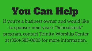 Holy Comforter Burlington Nc Divine Partnership Churches Support Abss With Supplies Funding