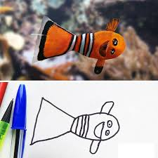 dad turns his 6 year old son u0027s drawings into reality and the