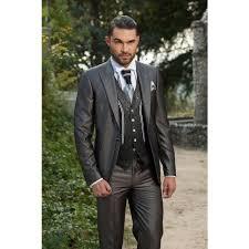 wedding party attire new fashion groom tuxedos peak lapel groomsmen best suits