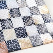 shell tile backsplash shell mosaic tiles black u0026 white mother of pearl tile backsplash