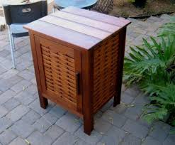 Stackable Aluminum Patio Chairs by Magnetic Storage Cabinet Brown From Genuine Mahogany Lumber On