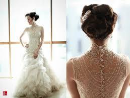 illusion neckline wedding dress 4
