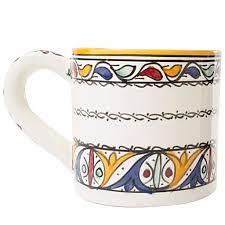moorish design latte soup mug u2013 casablanca market