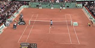 take note of the location of the umpire s chair