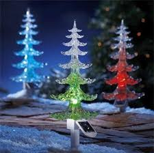 Outdoor Solar Christmas Decorations Uk by Garden Mile Large Solar Powered Colour Changing Led Garden