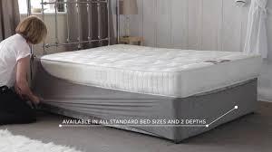 Base Wrap Valance Better Than Valance Sheets Old Divan Bed