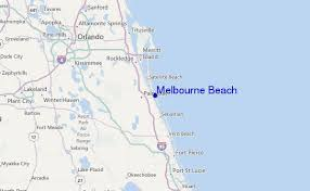 map melbourne fl melbourne surf forecast and surf reports florida usa