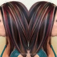 chunky highlight red blonde brown http niffler elm com