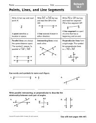 best ideas of lines and line segments worksheets 3rd grade for