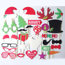 Christmas Photo Booth Props Wedding Photo Booth Ebay
