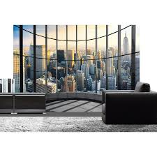 poster de chambre poster de mur office view deco wall l 366 x h 254 cm leroy merlin
