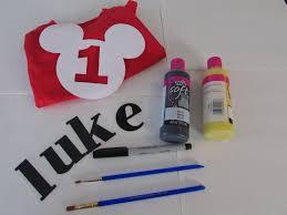 mickey mouse 1st birthday shirt diy mickey mouse 1st birthday shirt falon