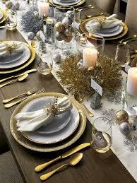 Dinner Table Decor Best 25 Christmas Table Settings Ideas On Pinterest Christmas