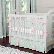 Mint Green Crib Bedding Bedding Cribs Amazing Mint Green Crib Bedding Mint Colored Crib
