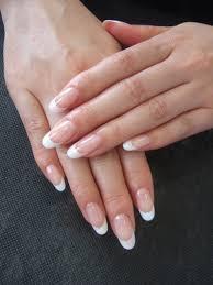 simple french nail polished nail u003c3 pinterest french nails