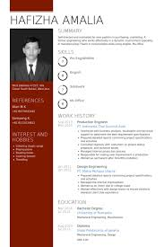 Sample Mechanical Engineer Resume by Production Engineer Resume Samples Visualcv Resume Samples Database