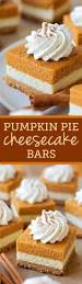 layered pumpkin pie cheesecake bars recipe pumpkin pie