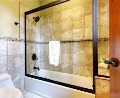 Framed Vs Frameless Shower Door Bathroom Shower Tub Combo Glass Doors Terrific Frameless Glass