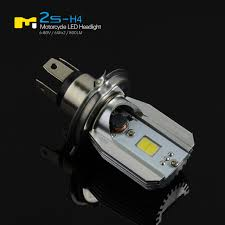 Led Light Bulbs For Headlights by Cob Led Motor Bike Moped Atv Hi Low Headlight Bulb Fog Light Drl