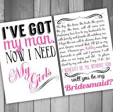 invitation to be a bridesmaid best 25 will u be my bridesmaid ideas on be my