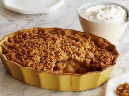 apple pear crumble apple and pear crisp recipe ina garten food network