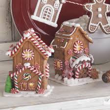 raz gingerbread house christmas ornaments raz peppermint kitchen