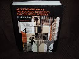 applied mathematics for business economics and the social
