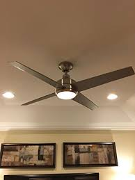 Free Shipping Home Decorators Code Home Decorators Mercer 52 In Brushed Nickel Ceiling Fan