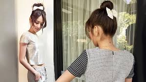 kathryn bernardo hair style kathryn bernardo s new favorite updo preview