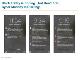 staples black friday online when start holiday mobile campaign strategies