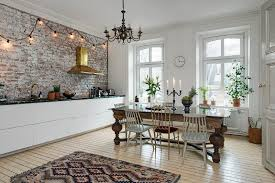 scandinavian home interiors exposed brick walls radiates charm in any home decoholic