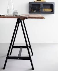 Ikea Create Your Own Desk Make Your Own Table With Ikea U0027s Oddvald Trestles Attach These