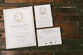 Monogram Wedding Invitations Letterpress Foil Stamped Custom Monogram Wedding Invitations