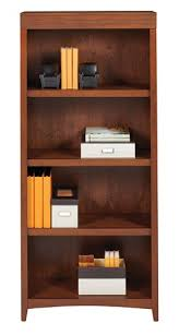 5 Shelves Bookcase Realspace Marbury Collection 5 Shelf Bookcase Auburn Brown By
