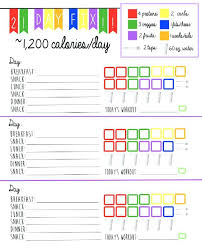 printable meal planner with calorie counter calorie tracker calorie counter diet tracker by calorie tracker