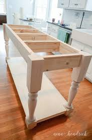 diy kitchen island table build your own diy kitchen island tutorial free building plans