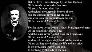 poem annabel lee by edgar allan poe freesound youtube