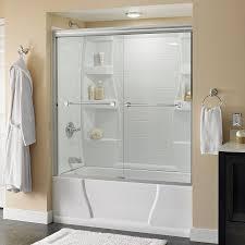 bathtubs mesmerizing bathtub shower doors lowes 59 waagee x bath