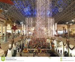 decorations at wafi mall in dubai editorial image