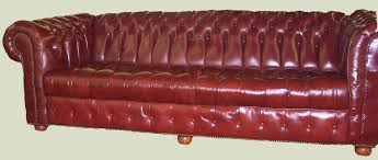 Leather Tufted Sofa Furniture Ideas Living Room Pleasureable Brown Semi Leather