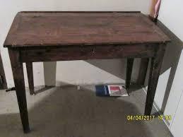 bureau bois occasion achetez bureau bois vintage occasion annonce vente à crespian 30