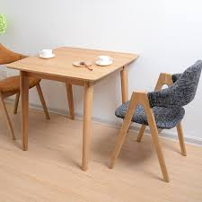 Square Wood Dining Tables Wooden Dining Table Small Apartment Adjacent Square Dining Table