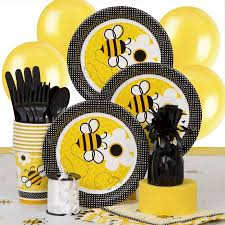 bumble bee party favors bumble bee party supplies kit for 8 walmart