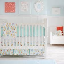 Yellow Crib Bedding Set Pinwheel Flowers Crib Bedding Set Rosenberryrooms